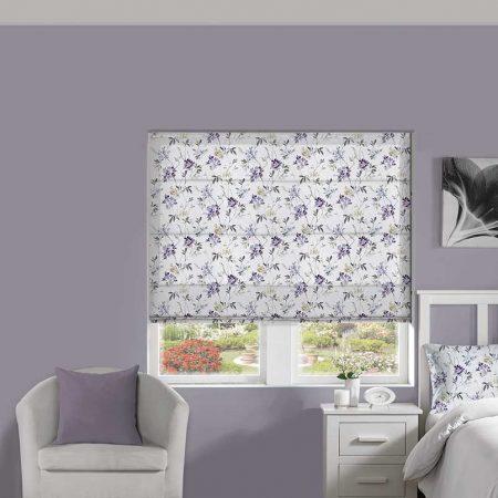 Blossom Lilac Roman Blind