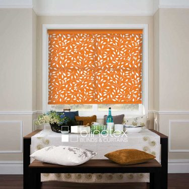 Rainsford Orange Roller blind