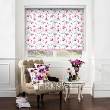 Waterflower Magnolia Roller Blind