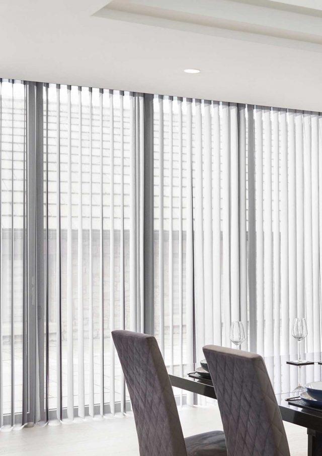 Nordic Grey Vertex Blinds