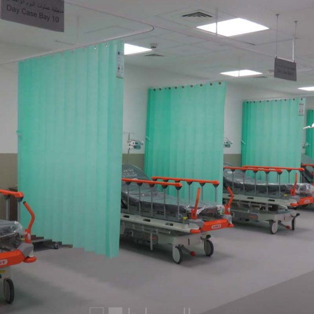 Curtain King's College Hospital London Dubai