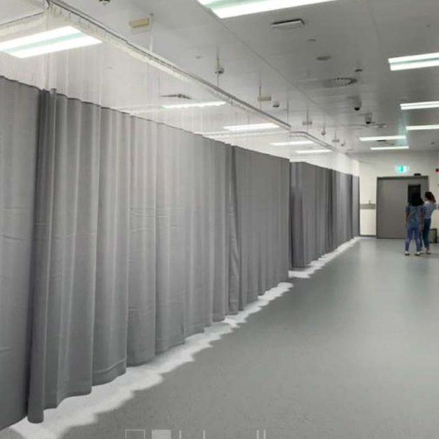 Hospital Privacy Curtain Clemenceau Medical Center Dubai