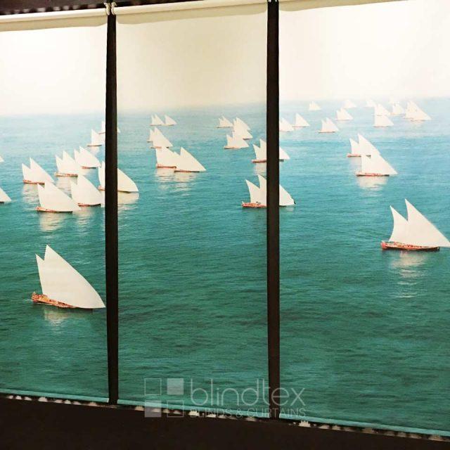 Adnoc Abu Dhabi - Printed Roller Blinds