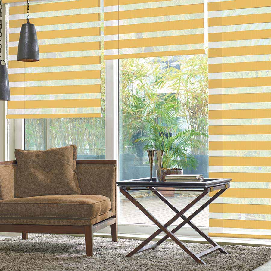 Frida-Mustard-Duplex-Blinds