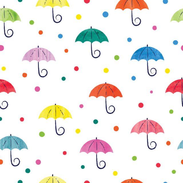 Watercolour-Umbrella-Roller-Blind